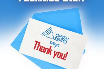Le SEFPO fête la Journée d'appréciation du personnel des installations