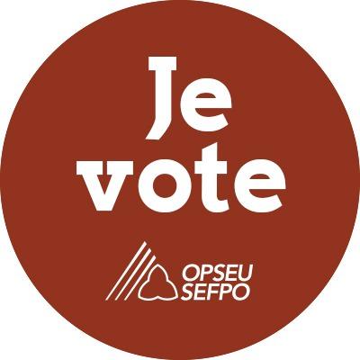 Je vote - SEFPO