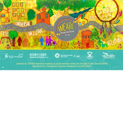 We Are Social Services poster
