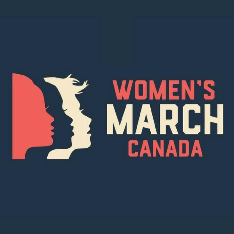 Women's March Canada logo