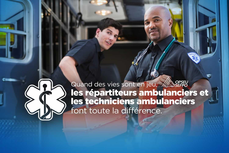 SEFPO Les repartiteurs ambulanciers et les techniciens ambulanciers