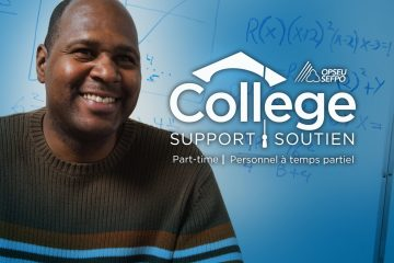 OPSEU College Support Part-time / SEFPO College soutien personnel a temps partiel