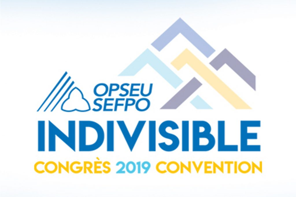 Indivisible: congres 2019 convention logo