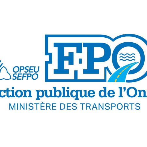 FPO: Fonction Publique de l'Ontario: Ministere Des Transports