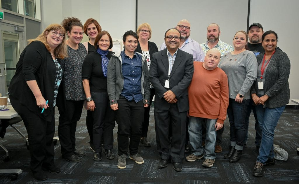 OPSEU member development trainees complete program with graduation at head office