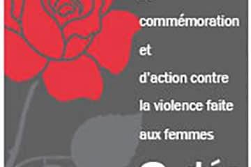 Journée nationale de commémoration et d'action contre la violence faite aux femmes : Poursuivre la lutte pour l'émancipation des femmes