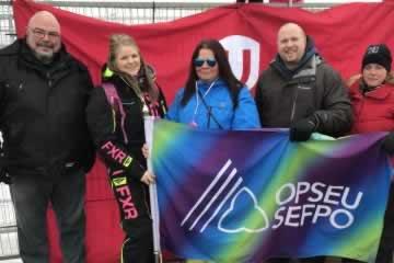 Le SEFPO en renfort sur les lignes de piquetage d'Unifor à Regina