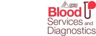Blood services and diagnostics logo