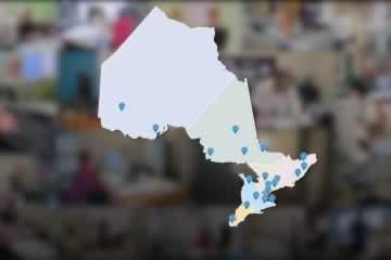 Des vidéos qui célèbrent les bureaux régionaux du SEFPO