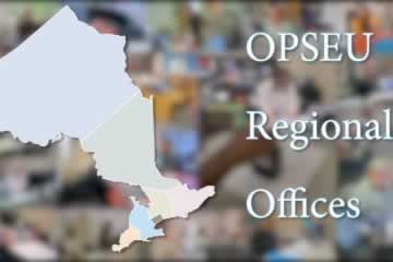 OPSEU Regional Offices