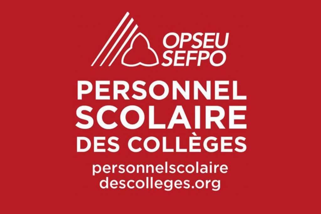 Déclaration de la Division du personnel scolaire des collèges de l'OPSEU/SEFPO sur l'abolition du sénat académique du Collège Sheridan