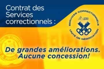 Services correctionnels : Meilleur contrat depuis des années, conclu et disponible en ligne