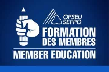 Member Education/Formation des Membres logo