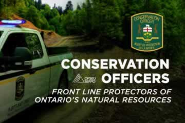 Conservations officers: Front line protectors of Ontario's natural resources