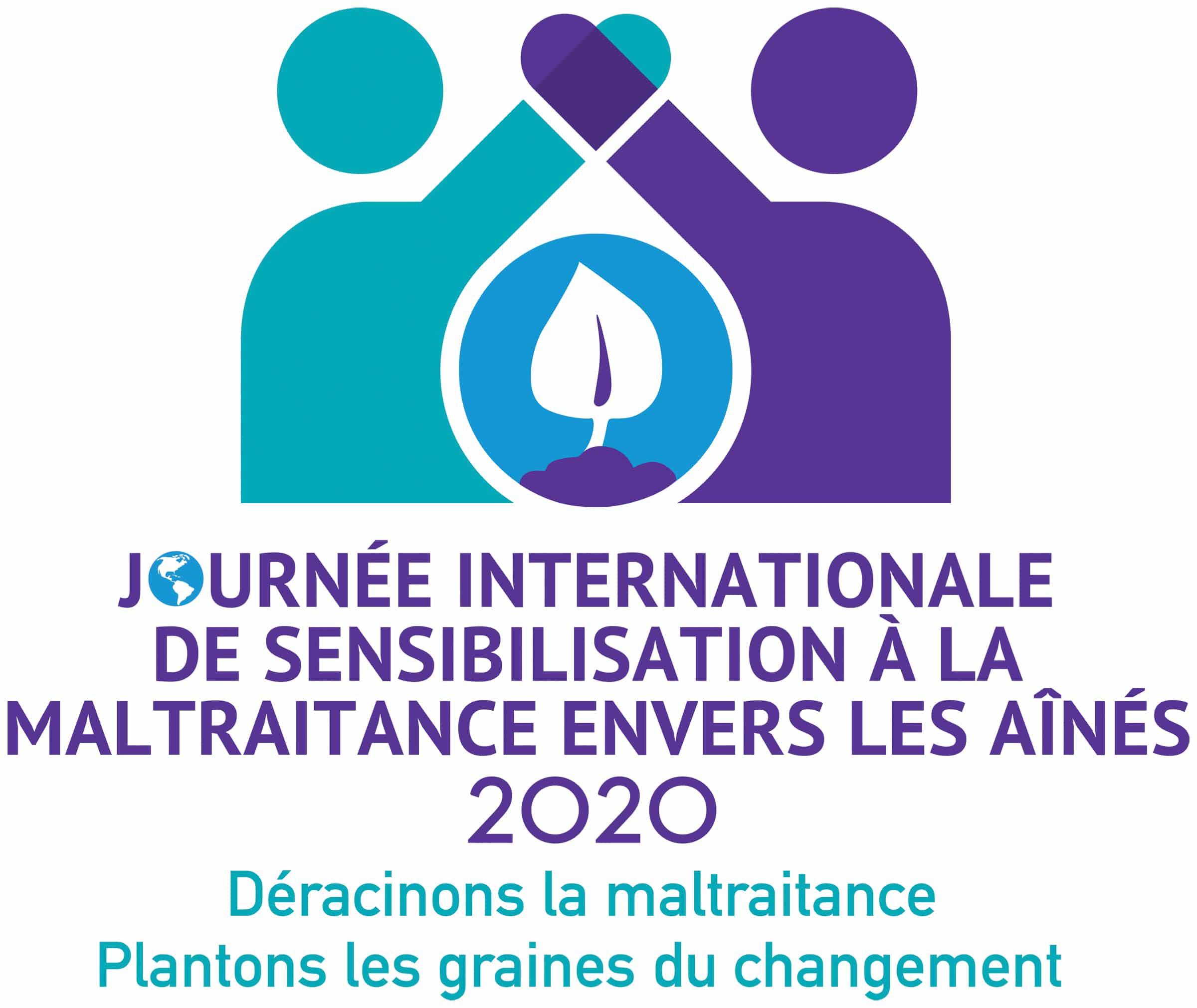 journee internationale de sensibiliisation a la maltraitance envers les aines 2020: eracinons la maltraitance Plantons les graines du changement