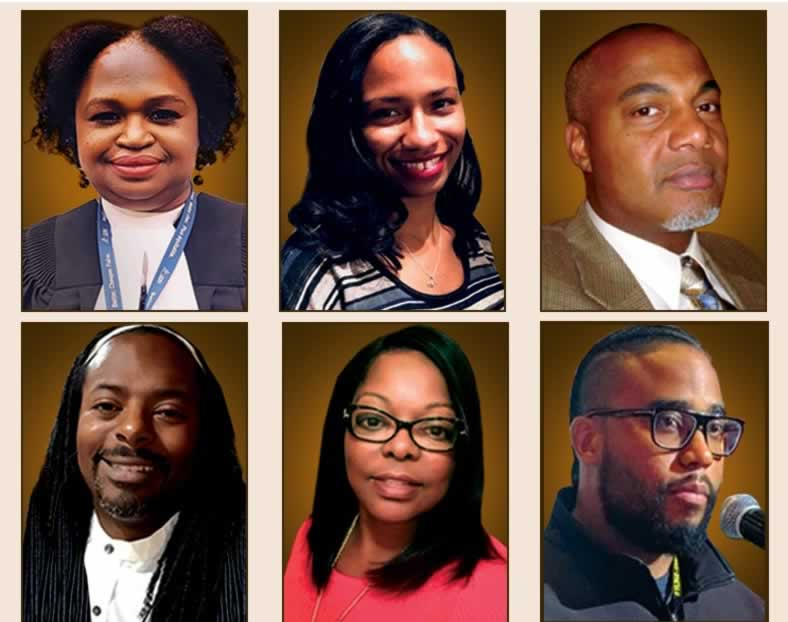 Anti-Black racism town hall panelists