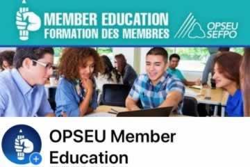 L'Unité de la formation des membres lance une nouvelle page Facebook!