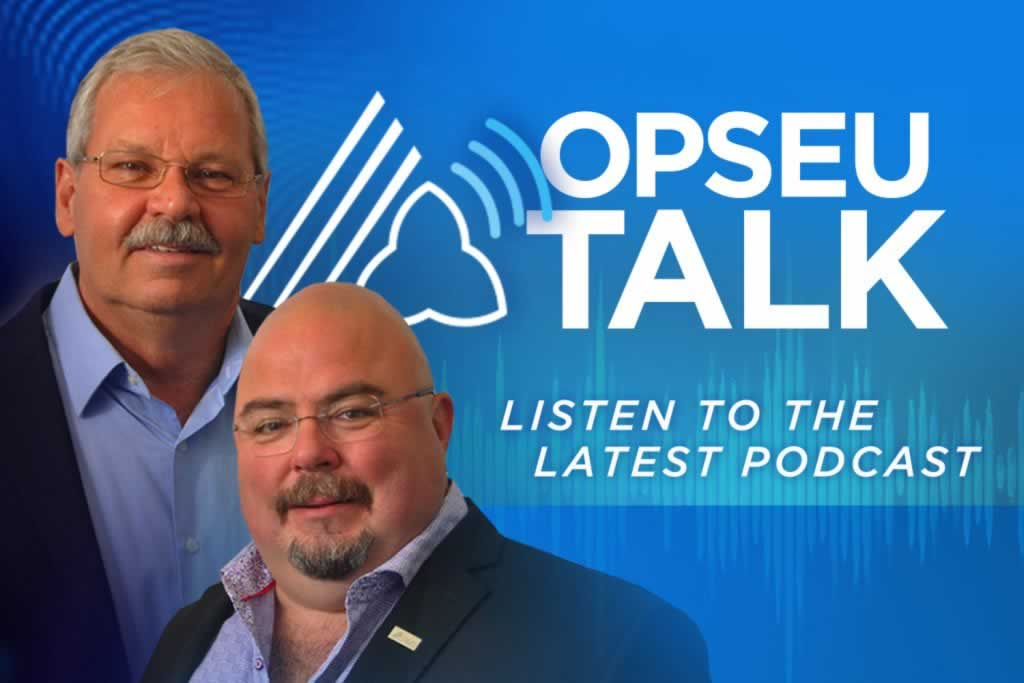 What keeps Smokey and Eddy up at night? Find out on OPSEU Talk