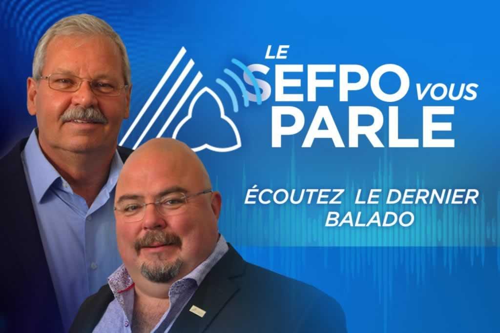 Le SEFPO vous parle, notre nouveau balado, est maintenant en ligne!