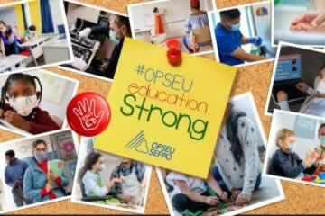 Solidarité avec les travailleurs de soutien à l'éducation du SEFPO!