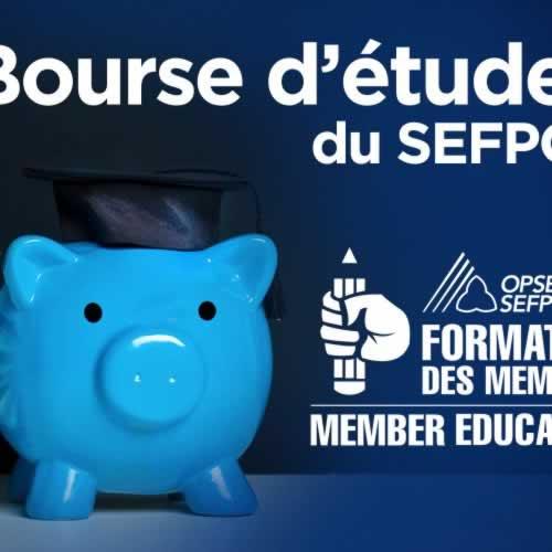 Bourse d'études du SEFPO