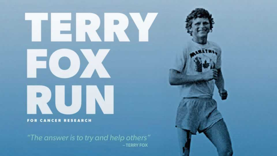 Terry Fox, un héros que nous n'oublierons jamais