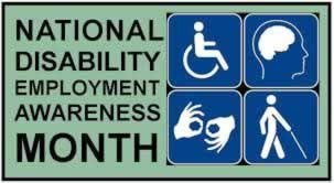 Disability Month graphic