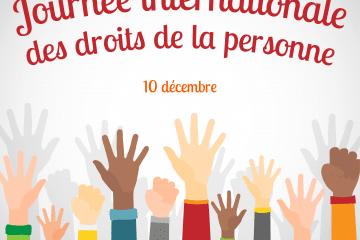 Journée internationale des droits de la personne : Reconstruire en mieux notre monde post-pandémique