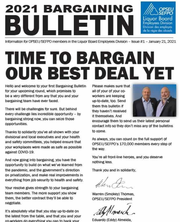C'est le moment de négocier notre meilleur accord