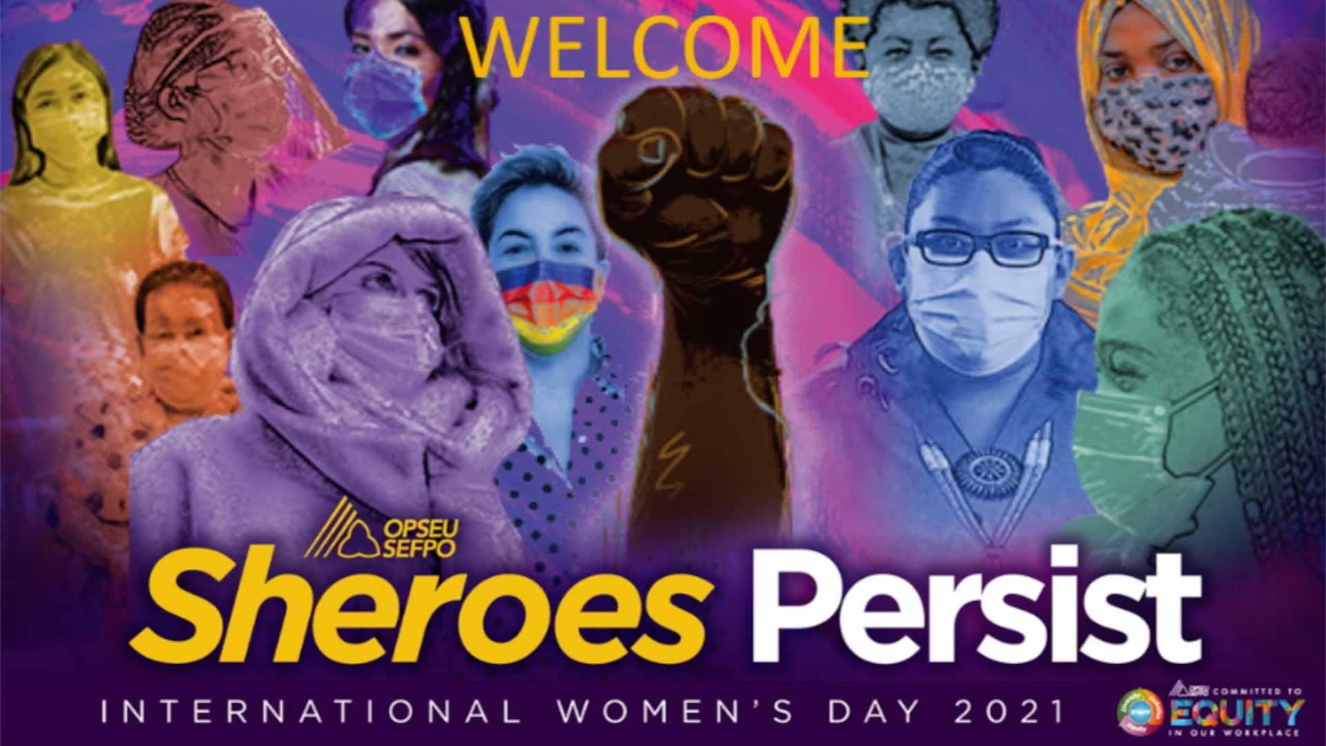 L'OPSEU/SEFPO célèbre la Journée internationale de la femme 2021