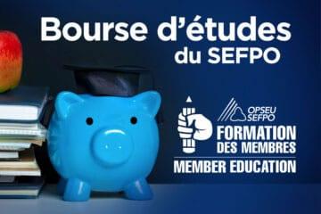 Bourse d'etudes du SEFPO. Formation des membres
